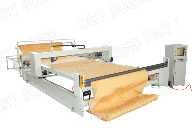 BST-8-C single head continuous computerized quilting machine